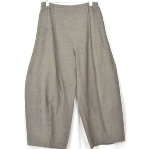 Blanque Pants - Blanque pants lantern style M gray taupe pockets f
